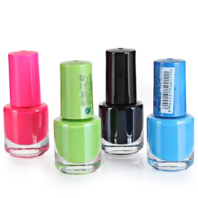24 Pcs Special Little Pure Color Nail Polish with 12 Colors
