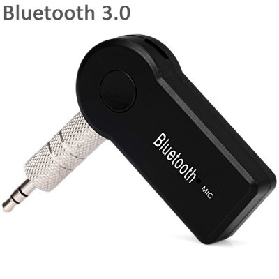 TS - BT35A08 HiFi Car Wireless Bluetooth 3.0 Audio Music Converter ReceiverSpeakers<br>TS - BT35A08 HiFi Car Wireless Bluetooth 3.0 Audio Music Converter Receiver<br><br>Audio Source: Bluetooth Enabled Devices,Electronic Products with 3.5mm Plug<br>Bluetooth Version: V3.0+EDR<br>Charging Voltage: DC 5V<br>Color: Black<br>Compatible with: iPhone, MP5, MP4, MP3, iPod, Laptop, PC, PSP, Tablet PC, Mobile phone<br>Connection: Wired, Wireless<br>Design: Car, Mini, Portable, Multifunctional<br>Functions: Stereo, Auto Sleep<br>Interface: 3.5mm Audio, Micro USB<br>Lasting Time: 8hours<br>Model: TS-BT35A08<br>Operating Range: 10m<br>Package Contents: 1 x Receiver, 1 x USB Cable, 1 x 3.5mm Connector, 1 x User Manual<br>Package size (L x W x H): 11.00 x 7.50 x 2.00 cm / 4.33 x 2.95 x 0.79 inches<br>Package weight: 0.0620 kg<br>Power Source: USB<br>Product size (L x W x H): 5.40 x 2.50 x 1.00 cm / 2.13 x 0.98 x 0.39 inches<br>Product weight: 0.0120 kg<br>Protocol: A2DP<br>Supports: Microphone, Bluetooth, Hands-free Calls<br>Transmission Distance: W/O obstacles 10m