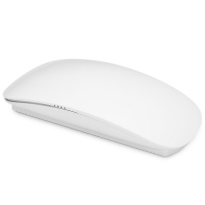 2.4GHz Ultrathin Intermediate Pulley Touch Wireless Optical MouseMouse<br>2.4GHz Ultrathin Intermediate Pulley Touch Wireless Optical Mouse<br><br>Connection: Wireless<br>Features: Mini<br>Interface: Wireless<br>Material: Plastic, Metal<br>Operating voltage: 1.5V<br>Operation Current: 15mA<br>Package Contents: 1 x 2.4GHz Wireless Intermediate Pulley Touch Optical Mouse, 1 x Receiver<br>Package size (L x W x H): 12.5 x 6.9 x 4.1 cm<br>Package weight: 0.112 kg<br>Product size (L x W x H): 11.3 x 6.0 x 2.0 cm / 4.4 x 2.4 x 0.8 inches<br>Product weight: 0.039 kg<br>Resolution: 800DPI,1000DPI,1200DPI<br>System support: Mac OS<br>Type: Mouse