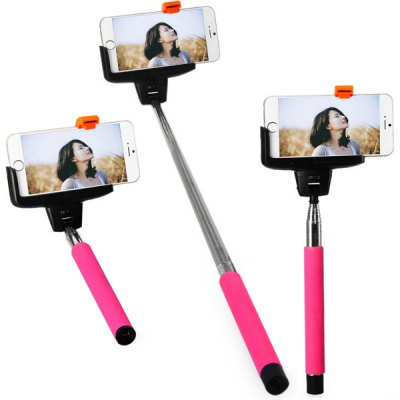 Kjstar Z07 - 5 Wi - Fi Selfie Rotary Extendable Handheld  iPhone Monopod IOS4.0 and Above System
