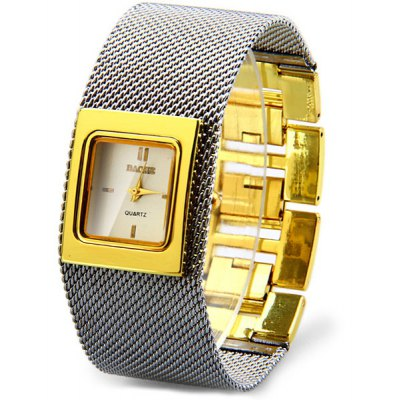 Baohe JDW016 Female Quartz Watch Steel Band Rectangle Dial
