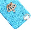 Fashionable Plastic Material Back Cover Case with Crown Pattern and Diamond Design for iPhone 6 Plus  -  5.5 inches deal