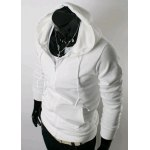 Buy Casual Style Hooded Slimming Solid Color Long Sleeves Men's Polyester Hoodies L