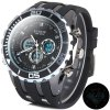 Buy Hpolw 591 Japan Dual Movt Watch 3ATM Water Resistant Round Dial Rubber Wristband Men BLACK
