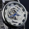 Lucky family Female Hand - winding Automatic Mechanical Watch Hollow - out Phoenix Pattern deal