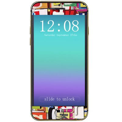 ФОТО Letter Pattern Design Phone Decal Skin Protective Full Body Sticker for iPhone 6  -  4.7 inches
