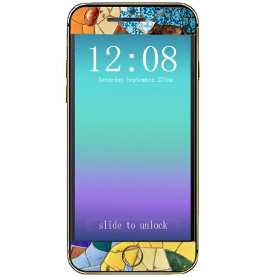 ФОТО Splicing Way Pattern Design Phone Decal Skin Protective Full Body Sticker for iPhone 6  -  4.7 inches