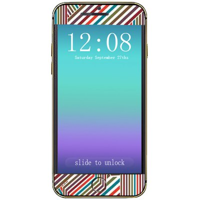 ФОТО Labyrinth Pattern Design Phone Decal Skin Protective Full Body Sticker for iPhone 6  -  4.7 inches