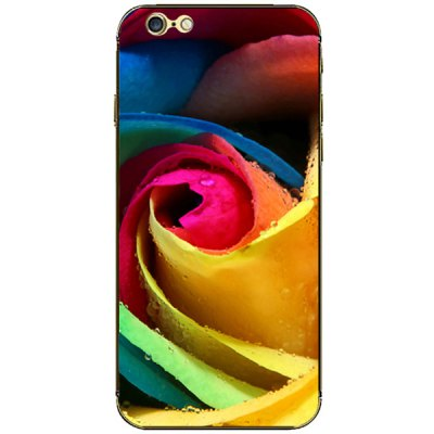 Фотография Colorful Flower Pattern Design Phone Decal Skin Protective Full Body Sticker for iPhone 6  -  4.7 inches