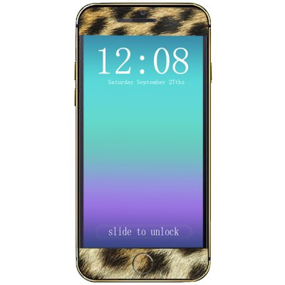 ФОТО Leopard Print Pattern Design Phone Decal Skin Protective Full Body Sticker for iPhone 6  -  4.7 inches