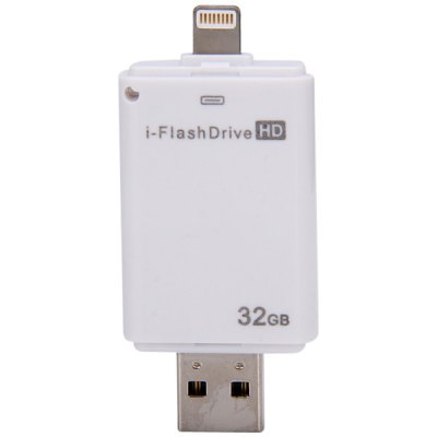 Гаджет   High Speed 32GB i - Flash Drive HD USB2.0 Flash Memory U Disk USB Flash Drives
