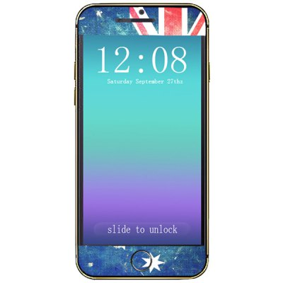 ФОТО Australian Flag Pattern Design Phone Decal Skin Protective Full Body Sticker for iPhone 6 Plus  -  5.5 inches