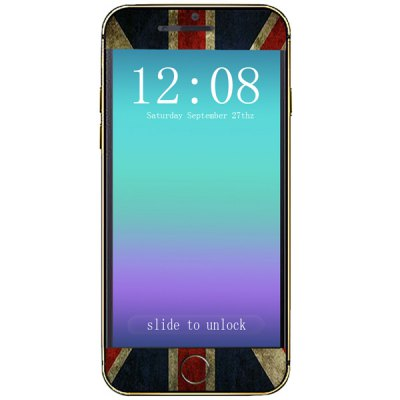 ФОТО the Union Jack Pattern Design Phone Decal Skin Protective Full Body Sticker for iPhone 6  -  4.7 inches