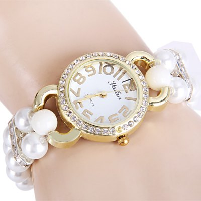 Yulan Female Quartz Chain Watch