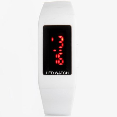 JIJIA ZX 1405 Children LED Watch PU Wristband for Outdoor SportsSports Watches<br>JIJIA ZX 1405 Children LED Watch PU Wristband for Outdoor Sports<br><br>People: Children watch<br>Style: Outdoor Sports, LED<br>Watches categories: Digital watch<br>Color: White, Black, Red, Blue<br>Shape of the dial: Square<br>Movement type: Digital watch<br>Display type: Digital<br>Case material: Stainless Steel<br>Band material: PU<br>Clasp type: Pin buckle<br>Special features: Day, 12/24 hours switch, Month<br>The dial thickness: 0.7 cm / 0.3 inch<br>The dial diameter: 4 cm / 1.6 inches<br>The band width: 1.1 cm / 0.4 inch<br>Product weight: 22 g<br>Product size (L x W x H) : 21 x 2.1 x 0.7 cm / 8.3 x 0.8 x 0.3 inches<br>Package contents: 1 x Watch