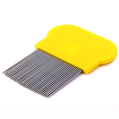 Гаджет   Exquisite 4cm Long Needle Type Cats Dogs Flea Comb Fine Toothed Pets Hair Brush Pet Supplies