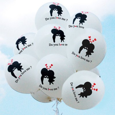 10pcs Proposal Style Latex Balloon