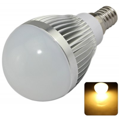 XinYiTong 7W E14 15 x SMD - 5630 LED 680Lm Warm White Silver Bulb Light (3000 - 3500K)