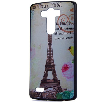 ФОТО Fashionable PC Material Iron Tower Pattern Back Cover Case for LG G3