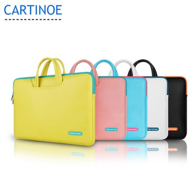 ФОТО Cartinoe Notebook Laptop Sleeve Briefcase Inner Bag for 15.4 inch MacBook Air Pro Lithe Series