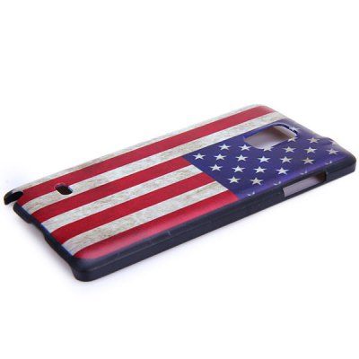 Фотография Fashionable PC Material Stars and the Stripes Pattern Back Cover Case for Samsung Galaxy Note 4 N9100