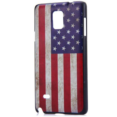 Fashionable PC Material Stars and the Stripes Pattern Back Cover Case for Samsung Galaxy Note 4 N9100