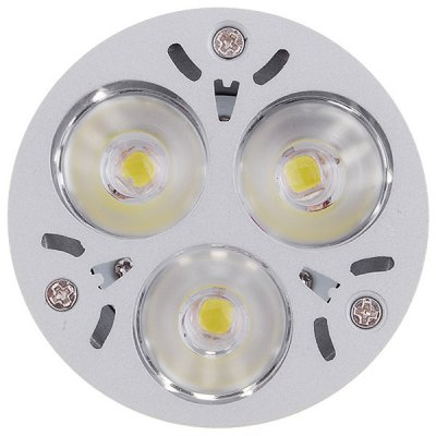 LUO MR16 3W 280Lm 3 - LEDs Super Bright White Light LED Spot Light (DC 12V)LED Light Bulbs<br>LUO MR16 3W 280Lm 3 - LEDs Super Bright White Light LED Spot Light (DC 12V)<br><br>Brand : LUO<br>Base Type: MR16<br>Type: Spot Bulbs<br>Output Power: 3W<br>Total Emitters: 3 LEDs<br>Actual Lumen(s): 280Lm<br>Voltage (V): DC 12<br>Features: Energy Saving, Low Power Consumption, Long Life Expectancy<br>Function: Home Lighting, Studio and Exhibition Lighting<br>Available Light Color: Cold White<br>Product Weight: 0.056 kg<br>Package Weight: 0.1 kg<br>Product Size (L x W x H): 5.2 x 4.8 x 4.8 cm / 2.05 x 1.89 x 1.89 inches<br>Package Size (L x W x H): 7 x 6 x 6 cm<br>Package Contents: 1 x LUO MR16 3 LEDs Spot Light