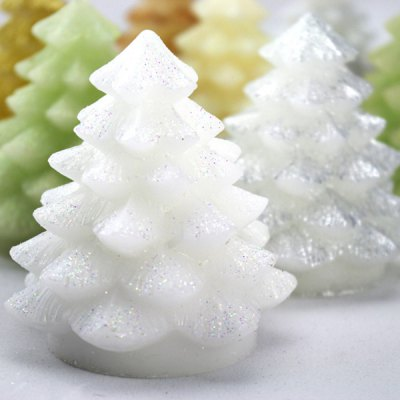 Гаджет   Gorgeous LED E - Candle Christmas Tree Shape Paraffin Candle for Decorations