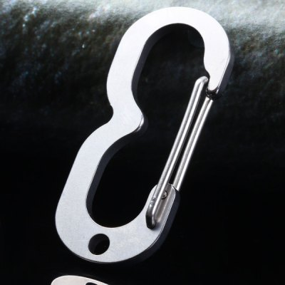 Sanrenmu SK003D Lucky Number 3 Carabiner with Key RingEDC Tools<br>Sanrenmu SK003D Lucky Number 3 Carabiner with Key Ring<br><br>Brand: Sanrenmu<br>Type: Multitools<br>For: Daily Use<br>Main Material: Stainless steel<br>Color: Silver<br>Product weight   : 0.008 kg<br>Package weight   : 0.073 kg<br>Product size (L x W x H)   : 4.5 x 2 x 0.3 cm / 1.77 x 0.78 x 0.11 inches<br>Package size (L x W x H)  : 12.5 x 8 x 2 cm<br>Package contents: 1 x Carabiner, 1 x Keyring