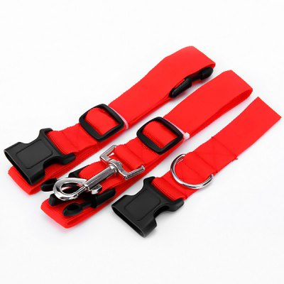 Гаджет   Practical Adjustable Sports Running Dog Cats Traction Leash Kit Pets Hauling Cable Belt Pet Supplies