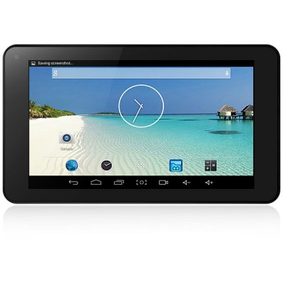 V7 Android 4.4 Tablet PC with 7 inch WVGA Screen ATM7021 Dual Core Cortex A5 1.3