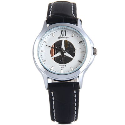 Yiliqi 1032 Female Quartz Watch Round Dial Leather StrapWomens Watches<br>Yiliqi 1032 Female Quartz Watch Round Dial Leather Strap<br><br>Watches categories: Female table<br>Available color: Black, White, Brown<br>Style : Business, Fashion&amp;Casual<br>Movement type: Quartz watch<br>Shape of the dial: Round<br>Display type: Analog<br>Case material: Stainless steel<br>Band material: Leather<br>Clasp type: Pin buckle<br>Water Resistance : Life water resistant<br>The dial thickness: 0.7 cm / 0.2 inches<br>The dial diameter: 2.7 cm / 1.1 inches<br>The band width: 1.3 cm / 0.5 inches<br>Product weight: 22 g<br>Product size (L x W x H) : 21 x 2.7 x 0.7 cm / 8.3 x 1.1 x 0.2 inches<br>Package contents: 1 x Yiliqi Watch