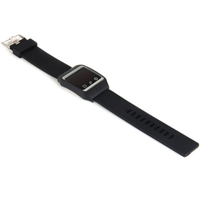 Фотография LED Watch Red Subtitles Touch Screen Date Rubber Strap Rectangle Dial
