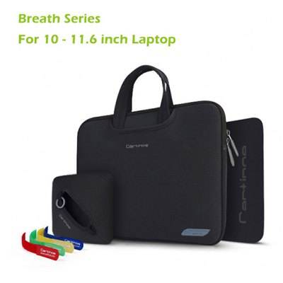 Cartinoe Notebook Laptop Sleeve Briefcase Inner Bag for 10.0  -  11.6 inch MacBook Air Lenovo Dell HP Asus Samsung Breath Series