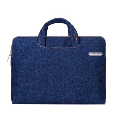 ФОТО Cartinoe Notebook Laptop Sleeve Briefcase Inner Bag for 12  -  13.3 inch MacBook Air Lenovo Dell HP Asus Samsung Jean Series