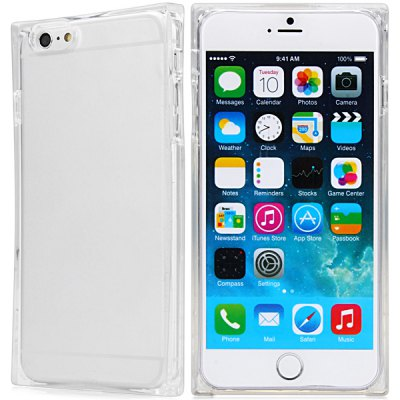 ФОТО Special Transparent TPU Material Back Cover Case for iPhone 6 Plus  -  5.5 inches
