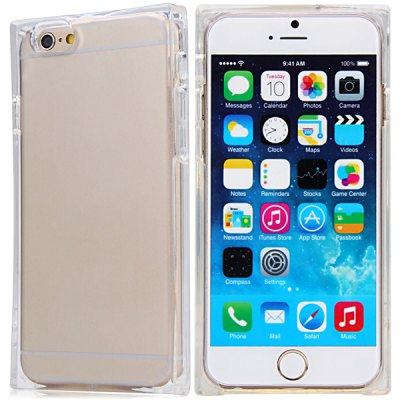 Special Transparent TPU Material Back Cover Case for iPhone 6  -  4.7 inchesiPhone Cases/Covers<br>Special Transparent TPU Material Back Cover Case for iPhone 6  -  4.7 inches<br><br>Compatible for Apple: iPhone 6<br>Features: Back Cover<br>Material: TPU<br>Style: Special Design, Transparent<br>Color: Transparent, Black, Green, Purple<br>Product weight : 0.051 kg<br>Package weight : 0.110 kg<br>Product size (L x W x H): 14 x 6.9 x 1.2 cm / 5.5 x 2.7 x 0.5 inches<br>Package size (L x W x H) : 16 x 9 x 3 cm<br>Package contents: 1 x Case