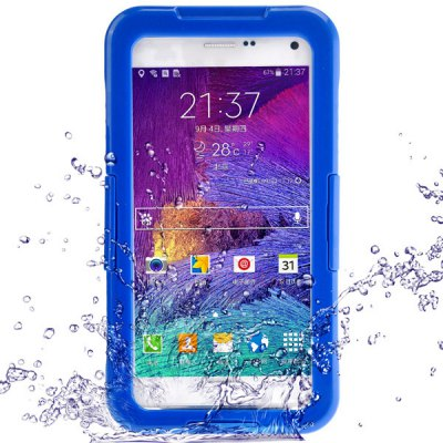 PC and TPE Waterproof Case for Samsung Galaxy Note 4 N9100