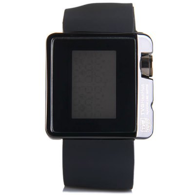 TVG 4G08 LED Digital Watch Week Date Year Rectangle Dial Rubber WatchbandSports Watches<br>TVG 4G08 LED Digital Watch Week Date Year Rectangle Dial Rubber Watchband<br><br>People: Unisex table<br>Style: Fashion&amp;Casual, LED<br>Color: Red, Blue, White, Black<br>Shape of the dial: Rectangle<br>Movement type: Digital watch<br>Display type: Digital<br>Case material: Stainless Steel<br>Band material: Rubber<br>Clasp type: Pin buckle<br>Special features: Date, Light, Calendar, Week<br>The dial thickness: 1.0 cm / 0.4 inches<br>The dial diameter: 4.2 cm  / 1.7 inches<br>The band width: 2.8 cm / 1.1 inches<br>Product weight: 0.075 kg<br>Product size (L x W x H) : 24.5 x 4.2 x 1.0 cm / 9.8 x 1.7 x 0.4 inches<br>Package contents: 1 x Watch