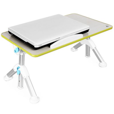Гаджет   T8 Folding 2 in 1 Multifunctional Laptop Bed Cooler Desk Cooling Pad for 14 / 15 / 17 inch Notebook Computer Parts & Accessories