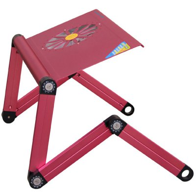 Гаджет   C3L 2 in 1 Novel Foldable Bed Computer Cooling Table Built - in Cooler Pad Compatible 14 / 15 / 17 inch Notebook Computer Parts & Accessories