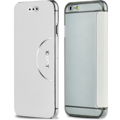 Practical PC and PU Material Cover Case for iPhone 6 Plus  -  5.5 inches