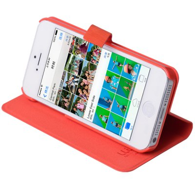Гаджет   Practical Plastic and PU Cover Case with Support Function Other Cases/Covers
