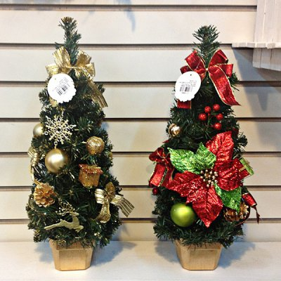 Christmas Mini Desktop Artificial Christmas Tree  Miniascape Xmas Decorations