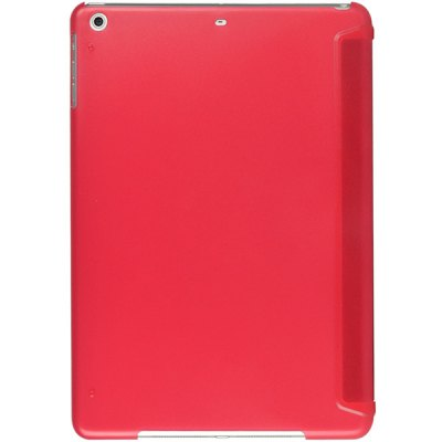 ФОТО Practical Plastic and PU Protective Cover Case with Stand for iPad Air