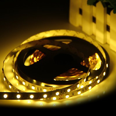 72W 5M 300 SMD - 5050 LEDs Flexible Warm White Strip Light Festival Supplier