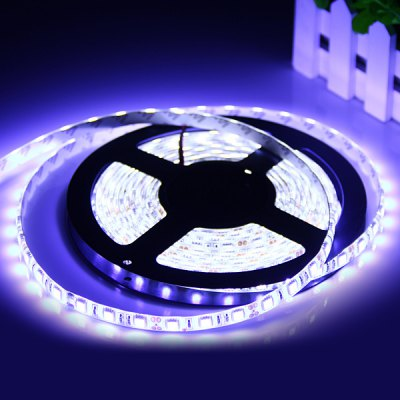 5M 72W 300 x 5050 6800Lm Water-resistant White Light LED Strip Light
