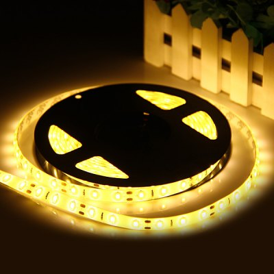 5M 87W 300 x 5630 8200Lm Warm White Water-resistant LED Strip Light