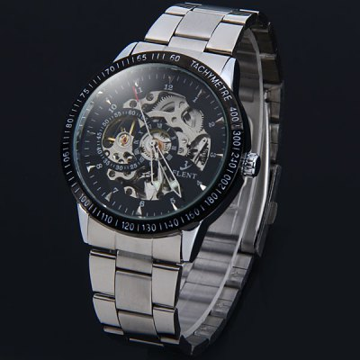 Фотография Flent 8050 Hollow - out Automatic Male Mechanical Watch
