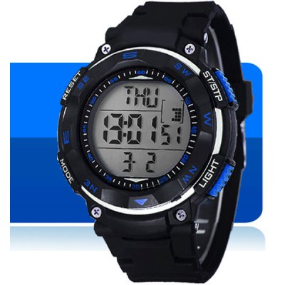 Synoke LED Sports Military Watch